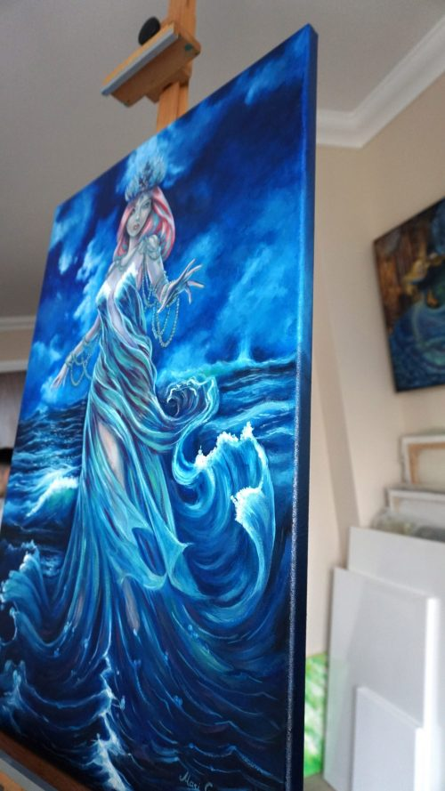 art sea queen by Mari Gru